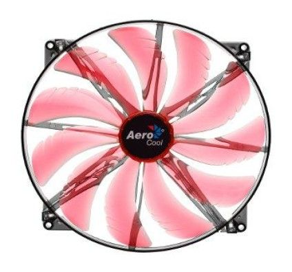 Aero Cool Silent Master Red Edition - 200mm
