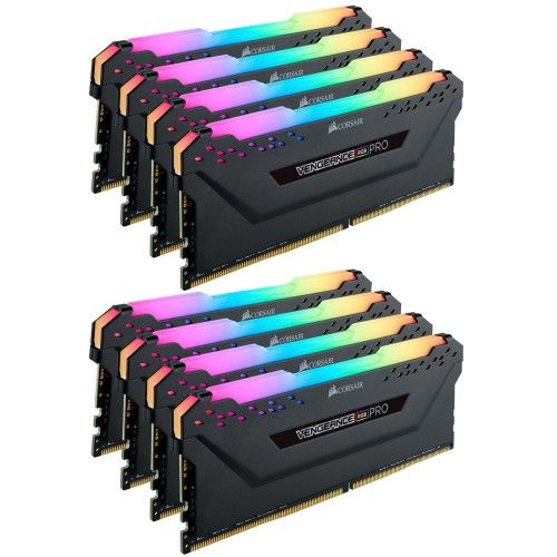 Corsair Vengeance RGB PRO Series 64 Go (8x8Go) DDR4 4000 MHz CL19