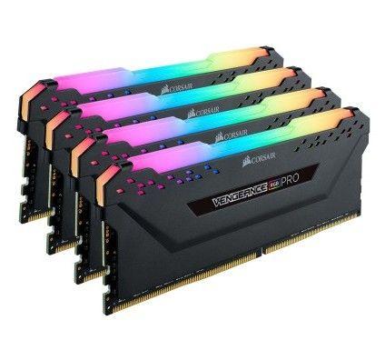 Corsair Vengeance RGB PRO Series 128 Go (4x32Go) DDR4 4000 MHz CL18