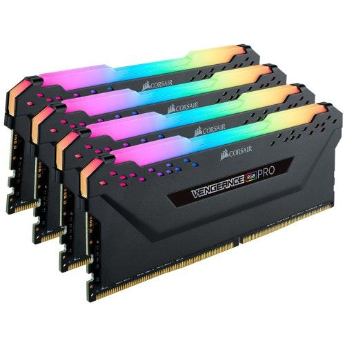 Corsair Vengeance RGB PRO Series 64 Go (4x16Go) DDR4 2666 MHz CL16 - CMW64GX4M4A2666C16