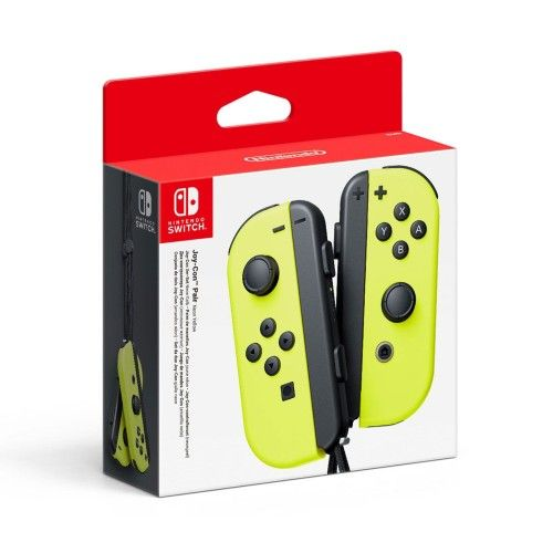 Nintendo Switch Joy-Con Droit & Gauche Jaune