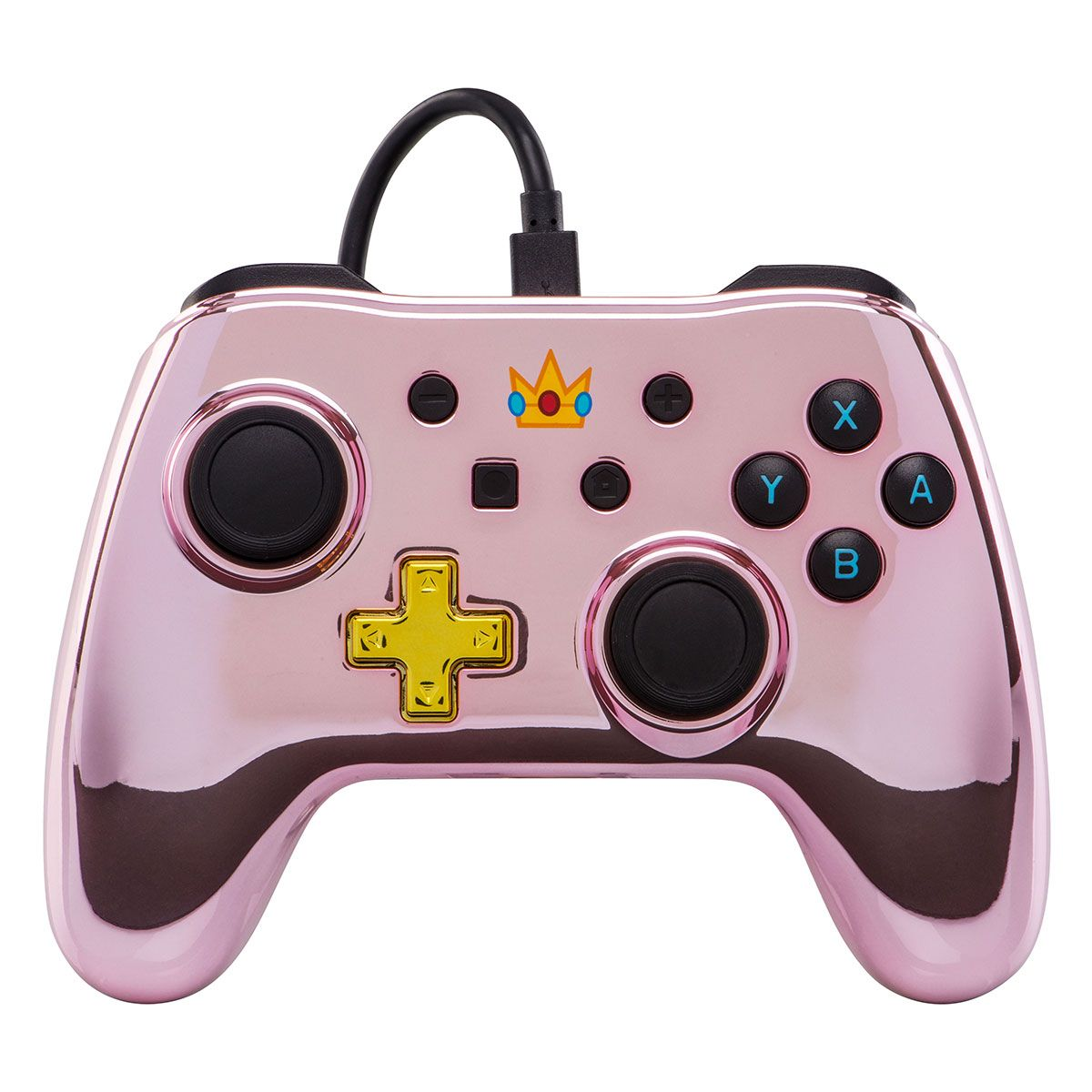 PowerA Nintendo Switch Chrome Wired Controller - Princess Peach