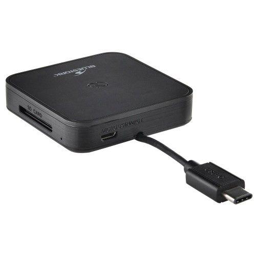 Bluestork Lecteur de carte & Hub- USB-C