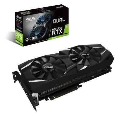Asus GeForce RTX 2080 DUAL-RTX2080-O8G