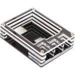 JOY-iT boîtier pour Raspberry Pi 3/2/1 (transparent) - RB-CASE-14