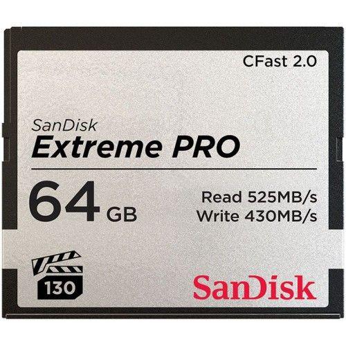 SanDisk Extreme Pro CompactFlash CFast 2.0 64 Go