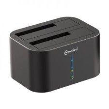 Station d'accueil USB v3.0 pour disques durs GDPD07T-BK Gris Connectland