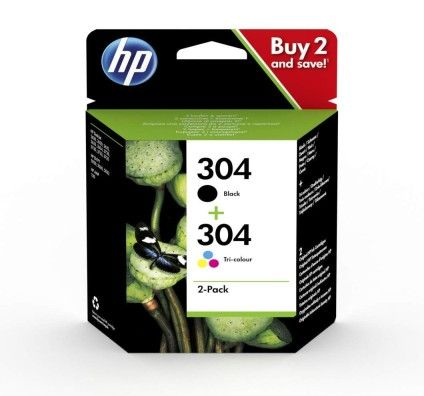 HP 304 Pack - 3JB05AE