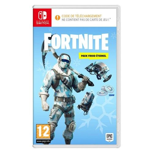 Fortnite - Pack Froid Éternel (Switch)
