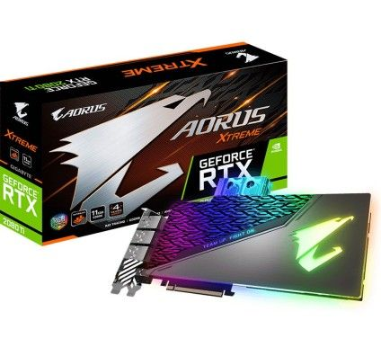 Gigabyte Aorus GeForce RTX 2080 Ti XTREME WATERFORCE WB 11G