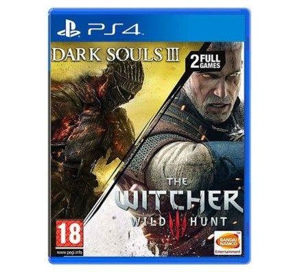 Dark Souls III + The Witcher III : Wild Hunt (PS4)
