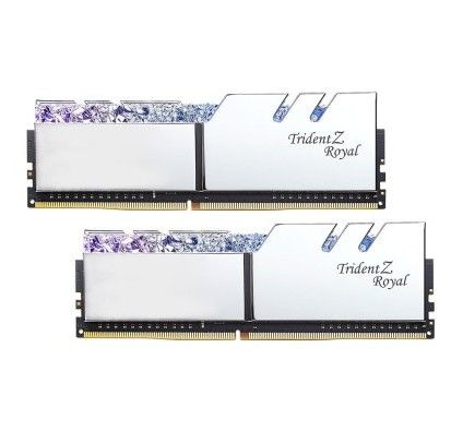 G.Skill Trident Z Royal 32 Go (2x16Go) DDR4 4000 MHz CL14 - Argent
