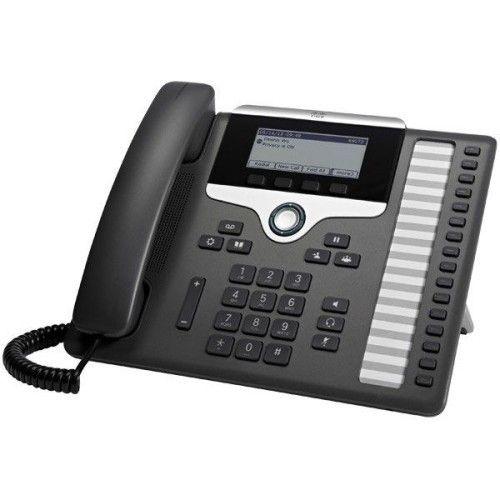 Cisco IP Phone 7861 avec micrologiciel de téléphone multiplateforme