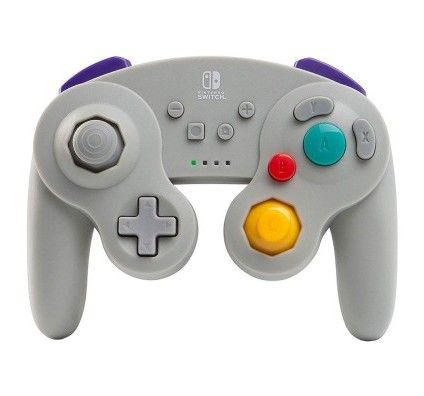 PowerA Nintendo Switch GameCube Wireless Controller Gris