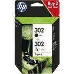 HP 302 Combo 3 couleurs / noir - X4D37AE