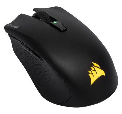 Corsair Souris Gaming Harpoon RGB Wireless – Black - noir