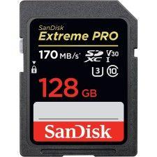SanDisk SDXC Extreme PRO UHS-I U3 128 Go
