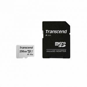 TRANSCEND Micro SDXC 300S UHS-I U3  256 Go