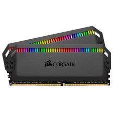 Corsair Dominator Platinum RGB 32 Go (2x16Go) DDR4 3200 MHz CL16 - CMT32GX4M2C3200C16