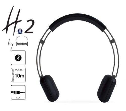 HEDEN - CASQUE MICRO BLUETOOTH - H2 - NOIR