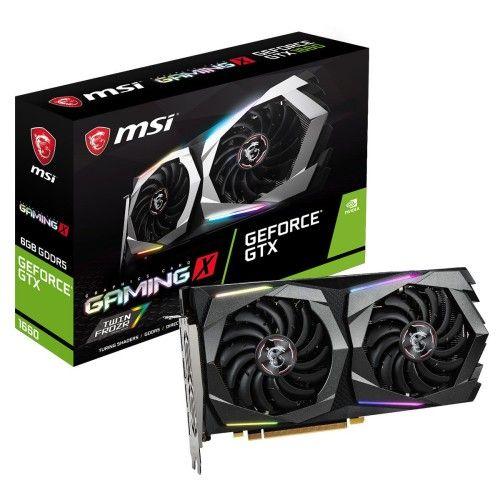 MSI GeForce GTX 1660 GAMING X 6G