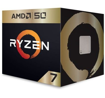 AMD Ryzen 7 2700X Wraith Prism Edition (3.7 GHz/ 4.3 GHz) Gold Edition