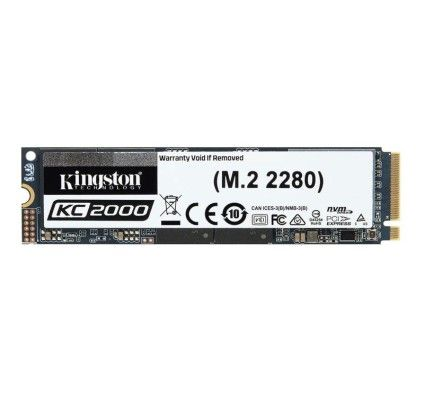 Kingston KC2000 M.2 PCIe NVMe 1 To