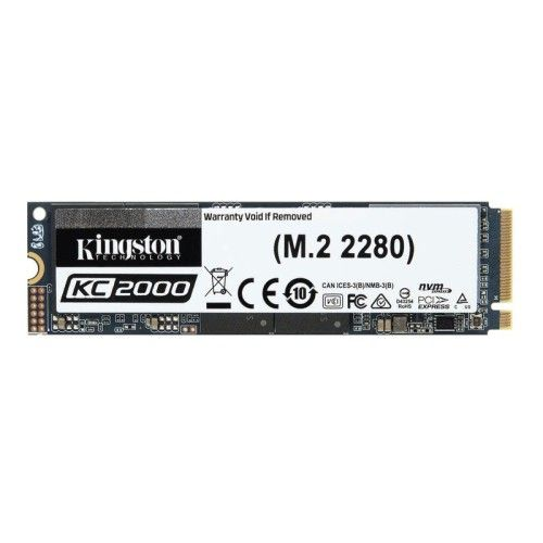 Kingston KC2000 M.2 PCIe NVMe 500 Go
