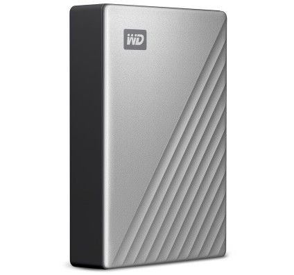 WD My Passport Ultra 4 To Argent (USB 3.0/USB-C)