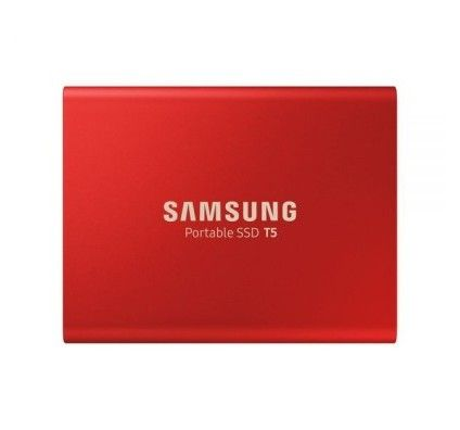 SAMSUNG SSD EXT SAMSUNG T5 500G ROUGE