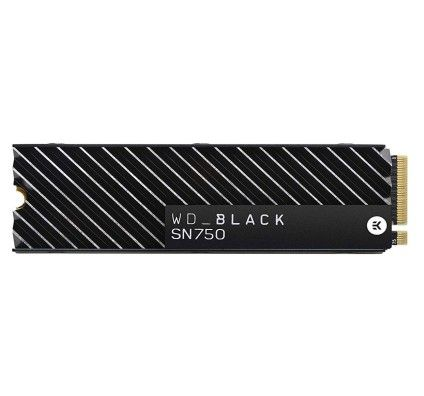 Western digital SSD WD Black SN750 EK 2 To