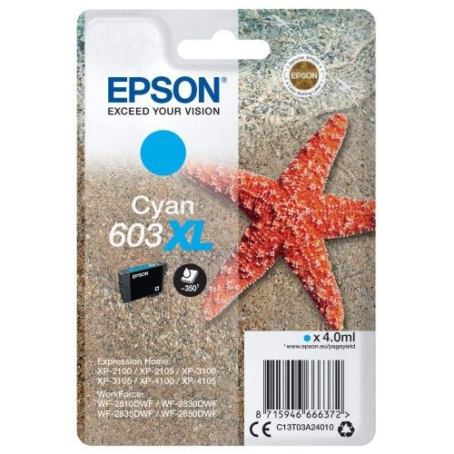 Epson Etoile de mer 603XL Cyan