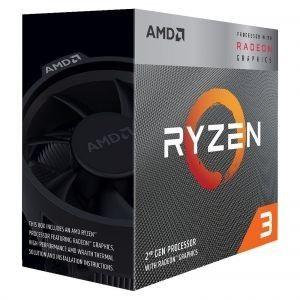 AMD Ryzen 3 3200G  (3.6 GHz / 4 GHz)