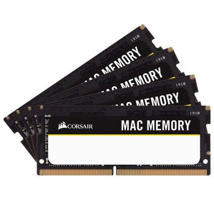 Corsair Mac Memory SO-DIMM 64 Go (4x16Go) DDR4 2666 MHz CL18