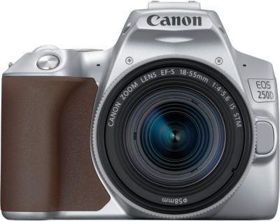 Appareil photo Reflex Canon EOS 250D Argent 18-55 IS STM