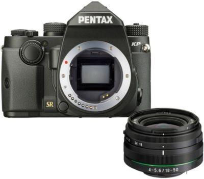 Appareil photo Reflex Pentax KP Noir + 18-50mm