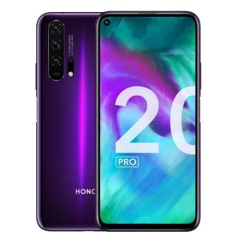 Smartphone Honor 20 Pro Double SIM 256 Go Phantom Black Purple à 499€