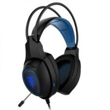 Casque de jeu FRODI Noir/Blue Berserker Gaming