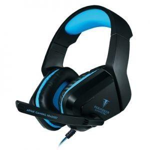 Casque de jeu ARVAK Noir/Bleu Berserker Gaming