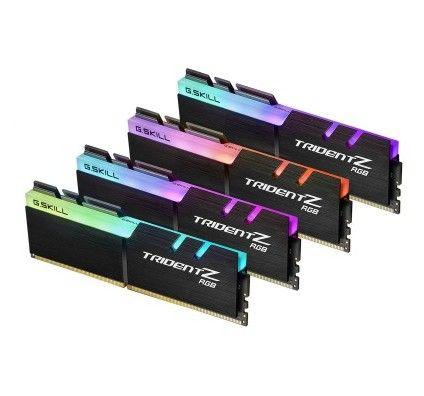 G.Skill Trident Z RGB 128 Go (4x32Go) DDR4 2666 MHz CL18