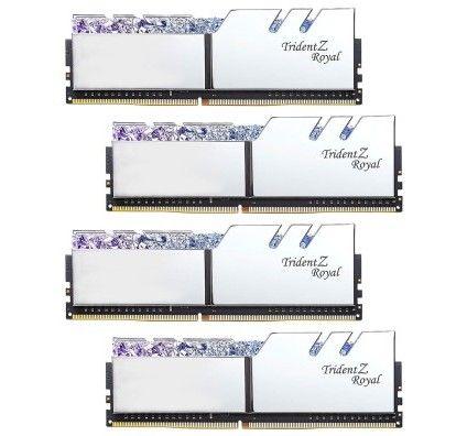 G.Skill Trident Z Royal 128 Go (4x32Go) DDR4 3600 MHz CL18 - Argent