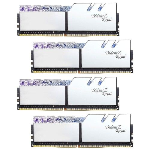 G.Skill Trident Z Royal 32 Go (4x8Go) DDR4 3600 MHz CL18 - Argent