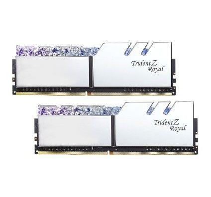 G.Skill Trident Z Royal 64 Go (2x32Go) DDR4 3600 MHz CL18 - Argent