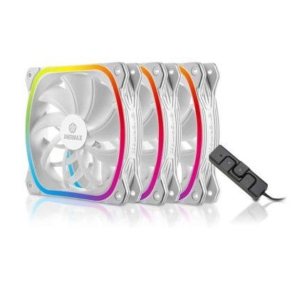 Enermax SquA. RGB White 120 mm Pack de 3