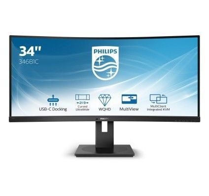 "Philips 34"" LED - 346B1C"
