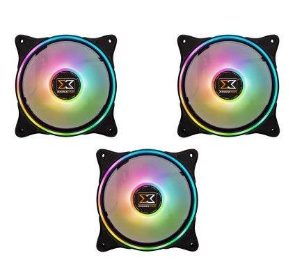 Xigmatek AT120 Galaxy 2 Pro Pack de 3