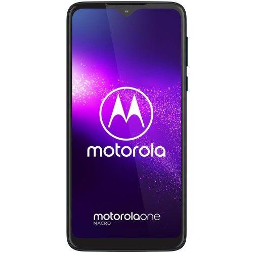 Motorola Moto One Macro Bleu