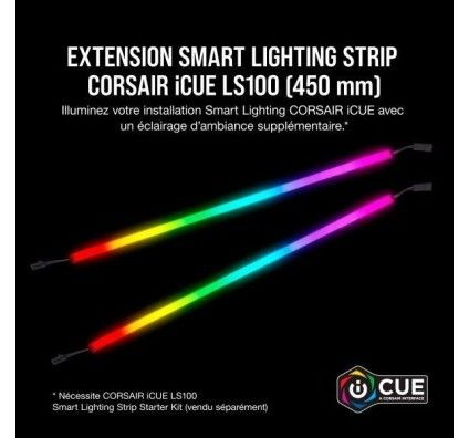 Corsair iCUE LS100 Smart Lighting Strip Lot d'extension 450 mm