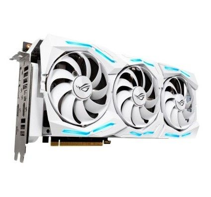 Asus GeForce RTX 2080 Ti ROG-STRIX-RTX2080TI-O11G-WHITE-GAMING - Edition Spéciale
