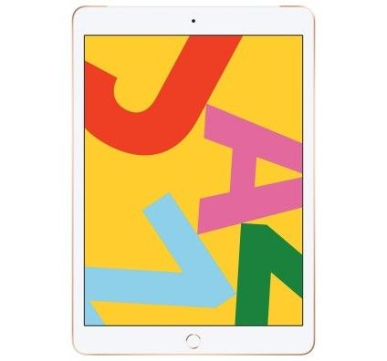 Apple iPad 10.2 pouces Wi-Fi + Cellular 32 GB Or